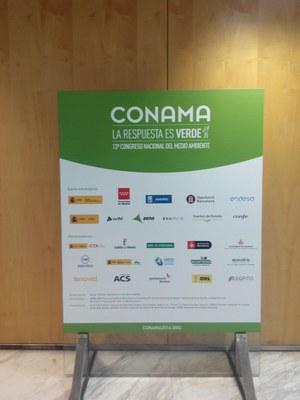 13è Congrés Nacional de Medi Ambient a Madrid.