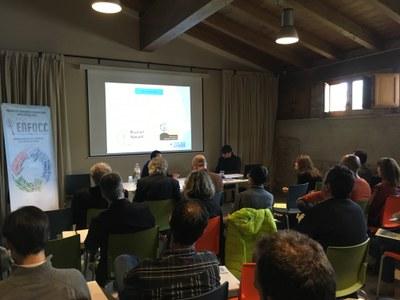 Acte de presentació del projecte ENFOCC: Energia, Forest i Canvi Climàtic.