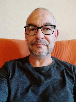 Marc Roca és l'alcalde de Rocafort de Queralt.