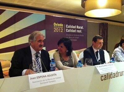 ADRI-NOC promou la Garrotxa a Oviedo .