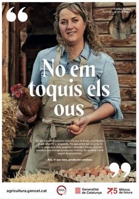 Agricultura llança una campanya per conscienciar sobre la importància del sector primari català i la qualitat del seus productes.