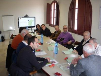 Alcaldes del Grup Leader Comarca Asón - Agüera - Trasmiera de Cantabria han visitat la Segarra per conèixer el sistema de gestió de residus.