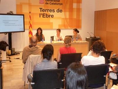 """ARCA presenta el projecte ODISSEU a les jornades """"Joves i Europa"""" de les Terres de l'Ebre."""