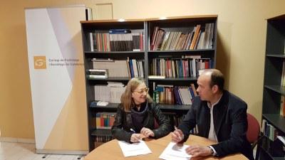 ARCA signa un conveni amb el Col•legi de Politòlegs i Sociòlegs de Catalunya per tal de cooperar en projectes i formacions.