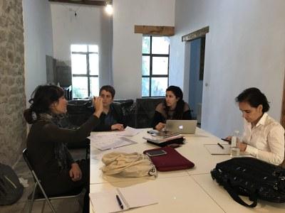 """Assessorament i suport professional als espais de coworking rurals, acció destacada del projecte """"COWOCAT RURAL""""."""