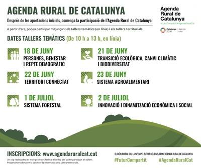 Comença la fase de participació a l'Agenda Rural de Catalunya.