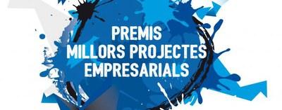 """Convocatòria dels """"Premis als millors projectes empresarials 2015""""."""