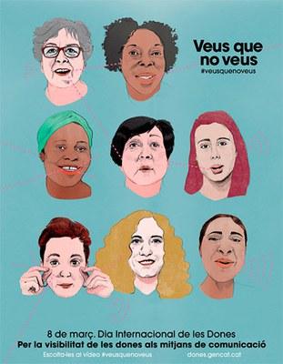 Dia Internacional de les Dones 2018.Declaració institucional .
