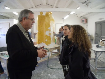 Educadores Ambientals de Madrid visiten Empreses Responsables de la Garrotxa.