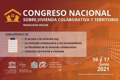 Congrés Nacional sobre Habitatge Col·laboratiu i Territori.