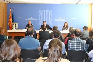 El conseller Josep Maria Pelegrí destaca la importància del medi rural en el conjunt del territori de Catalunya.