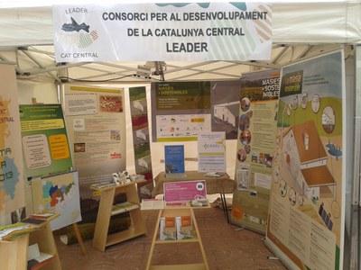 El Consorci per al Desenvolupament de la Catalunya Central ha estat present a la fira de Sant Isidre de Solsona.