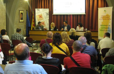 El Consorci per al Desenvolupament de la Catalunya Central rep la visita d'una delegació de grups Leader d'Eslovàquia.