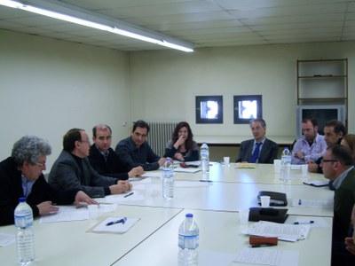 El Director General de Desenvolupament Rural, Jordi Sala Casarramona, es reuneix amb l'Associació d'iniciatives Rurals de Catalunya (ARCA).