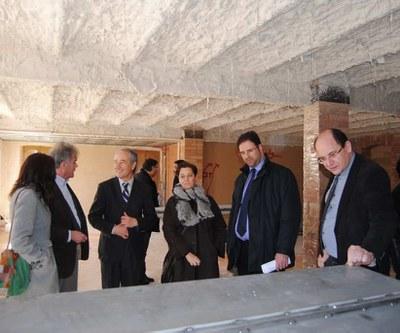 """El Director General de Desenvolupament Rural visita el projecte Leader """"Logos Berguedà""""."""