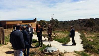 El director general de Desenvolupament Rural visita tres dels projectes Leader de referència de la Catalunya Central.