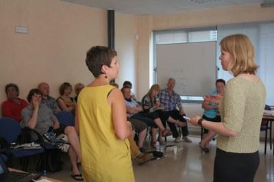 El Grup d'Acció Local d'Estònia Peipsi - Alutaguse visita Catalunya .