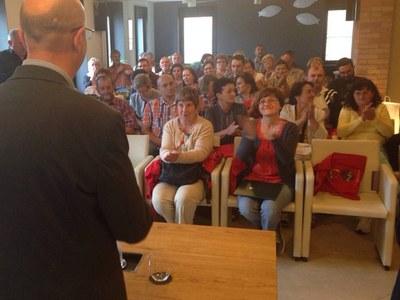 """El Grup d'Acció Local de Polònia """"Spichlerz Górnego Śląska"""" visita Catalunya per conèixer la implementació del programa Leader ."""