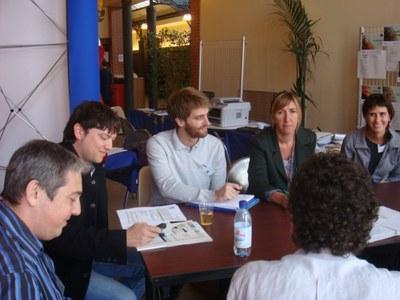 El Leader Ripollès Ges Bisaura parla de Medi Ambient i Energia a Prada de Conflent.
