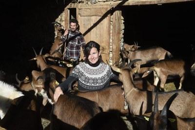 El nou planter de pastors es compromet amb la terra i els ramats.