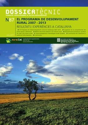 El Programa de desenvolupament rural 2007-2013. Resultats i experiències a Catalunya.