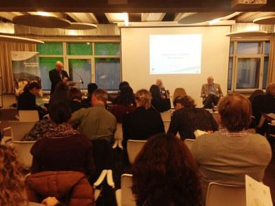 """El programa LEADER català al seminari """"Extending LEADER Innovation"""" a Brussel·les."""
