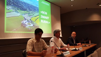 """El projecte """"BCN Smart Rural"""", motor de canvi en el món rural."""