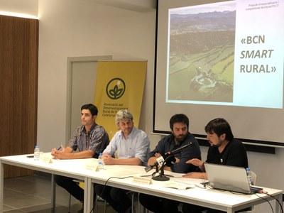 El projecte de desenvolupament territorial 'Bcn Smart Rural' es presenta a Prats de Lluçanès.