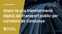 El servei a les zones amb menys densitat demogràfica, un dels reptes de l'SmartCatalonia Challenge de mobilitat