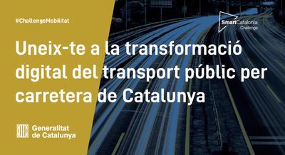 Concurs d'innovació SmartCatalonia Challenge de mobilitat.