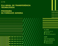 Els grups Leader i ARCA proposen 64 jornades en el Pla de Transferència Tecnològica d'aquest 2018.