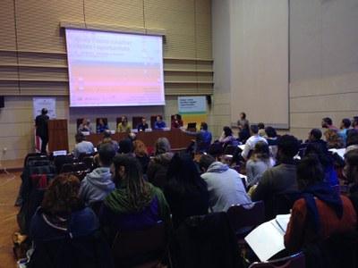 """Els grups Leader presents en el XVIII Fòrum d'estudis sobre la Joventut """"Joves i nova ruralitat: reptes i oportunitats""""."""