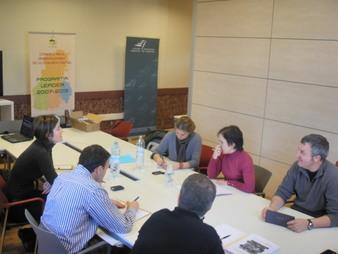 Els socis de Lleida del projecte Gustum es reuneixen a Solsona.