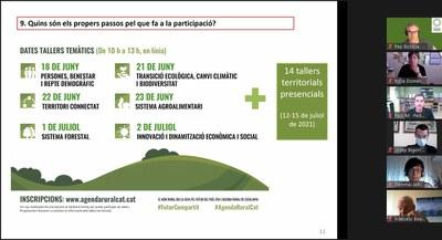 Es constitueix la comissió motora de l'Agenda Rural de Catalunya.