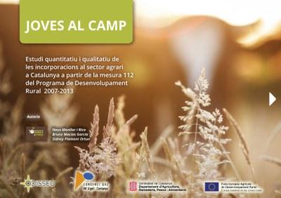 """Es publica """"Joves al camp"""", un estudi sobre les incorporacions de joves al sector agrari a Catalunya."""