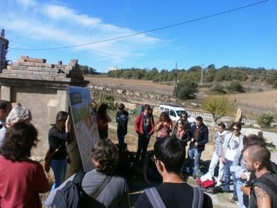 Estudiants francesos coneixen les activitats del Consorci de la Catalunya Central.