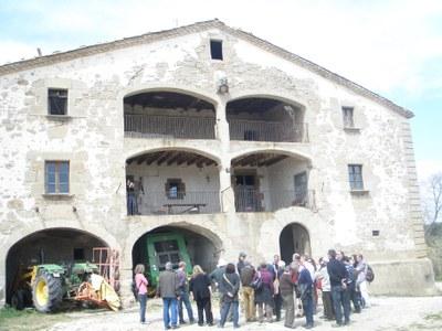 Èxit de participació en la visita a les Masies d'Osona .