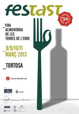 Fira alimentària FESTAST a Tortosa.