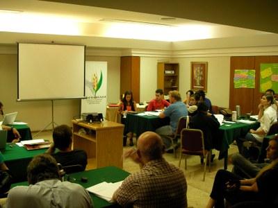 """Gerents de Grups d'Acció Local presents al curs de """"Participació i Lideratge per la gestió territorial"""" celebrat a l'Argentina.."""