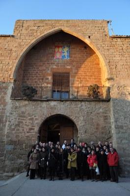 Grups Leader francesos i catalans visiten els castells de la Ruta dels Castells de la Segarra.