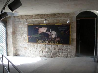 Inauguració de les obres de rehabilitació del Castell de Castellar d'Aguilar de Segarra.