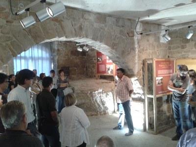 Inauguració de les obres de restauració i museïtzació del Castell de Castellar d'Aguilar de Segarra.