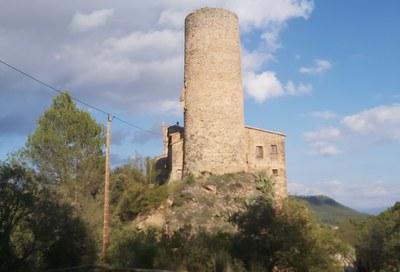 Inauguració de l'espai 'Torres de Fals. Castell de Frontera'.