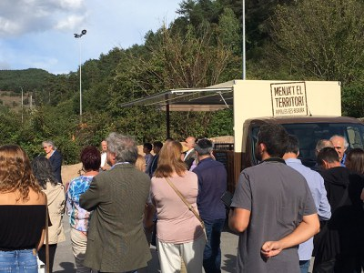 "Inaugurada ""La Tartana"". La Food Truck divulgativa del producte agroalimentari del Ripollès – Ges – Bisaura ."