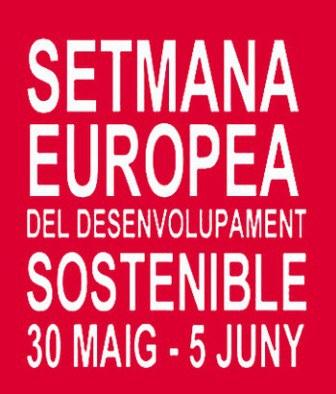 """Ja pots inscriure la teva activitat a la 4a """"Setmana Europea del Desenvolupament Sostenible""""."""