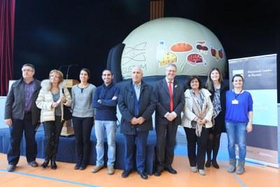 """L'Associació Leader de Ponent posa en marxa """"La Cúpula Gustum"""", un projecte educatiu que destaca la producció agroalimentària de l'àmbit rural català."""