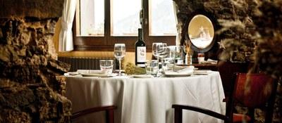 La Fonda Xesc, una cuina amb productes de la terra que li ha valgut una estrella Michelin.