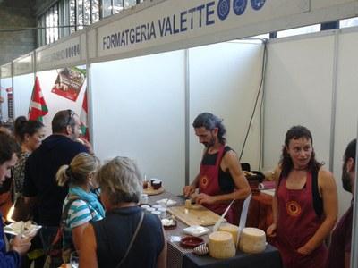 La formatgeria VALETTE de Sant Llorenç, premiada amb una medalla d'or a la Fira de Sant Ermengol.
