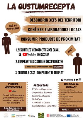 """La """"GustumRecepta"""", una nova fórmula per incentivar el consum de productes de proximitat."""