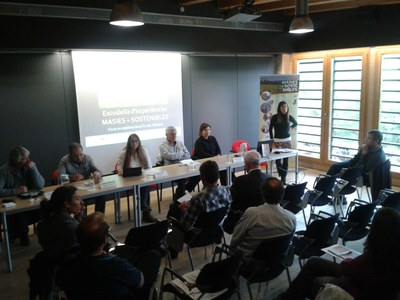 La iniciativa Masies+Sostenibles realitza la jornada de cloenda del projecte.